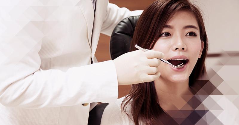 歯列矯正施術イメージ